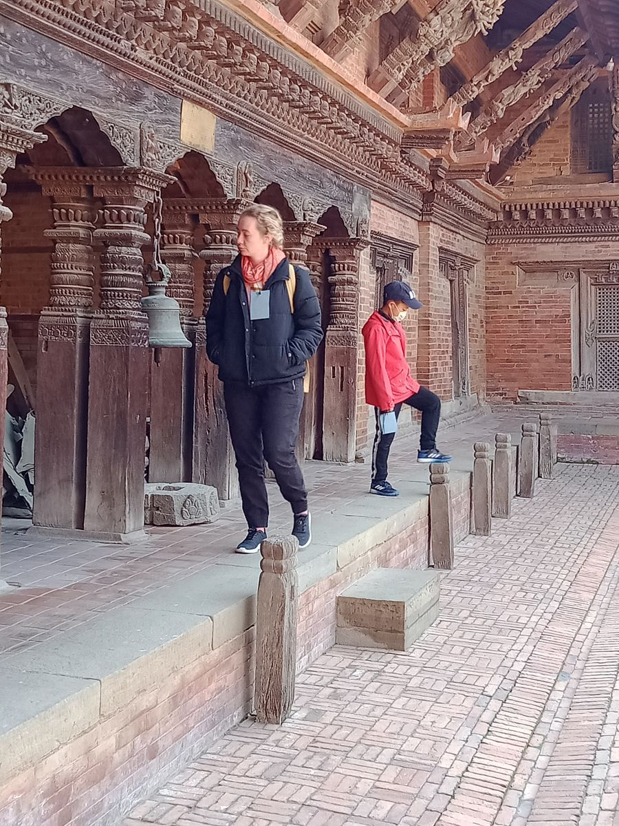 Durbar Square Visit-Wood craven Architecture and Monumentes Nepal