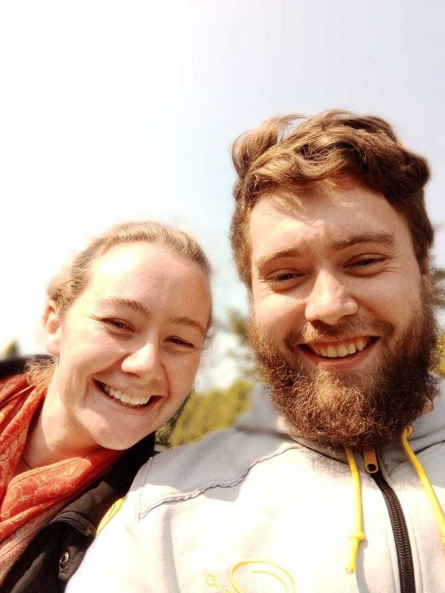 Liz(left) and Thomas(Right): 3 Weeks Vacation Experience in Nepal