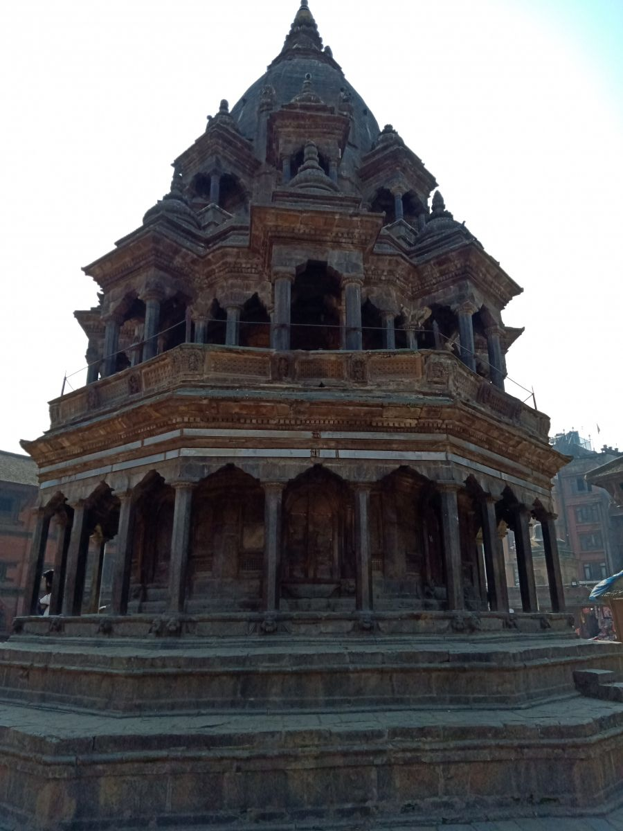 Temple from Durbar Square in Patan