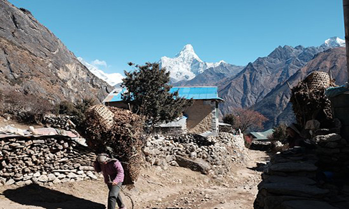 Acclimatization in Namche