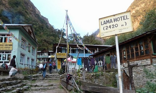 Briddim to Lama Hotel