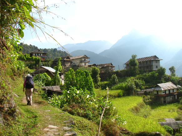Trek from Taplejung to Simbu